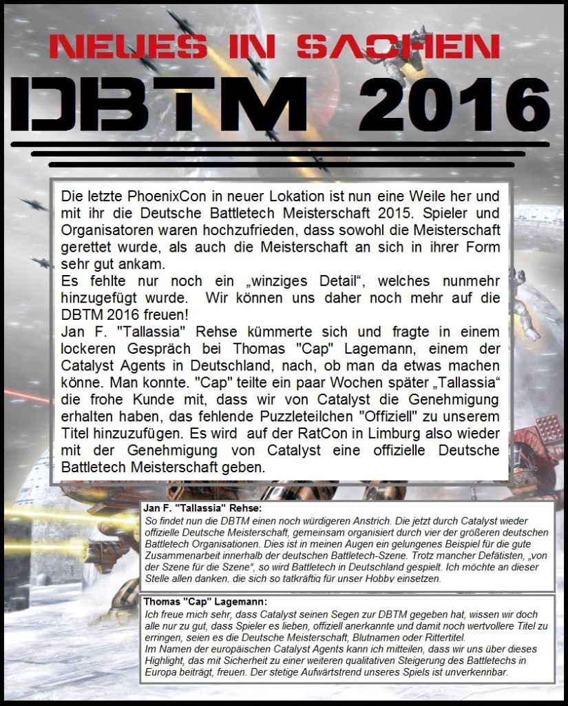 Neues iS DBTM 2016-2