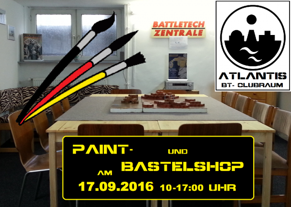 160917 Paint - Bastelshop ATLANTIS